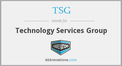 TSG - Technology Services Group