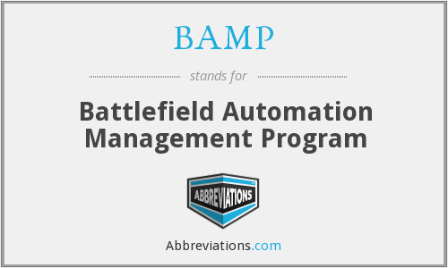 What does BAMP stand for?