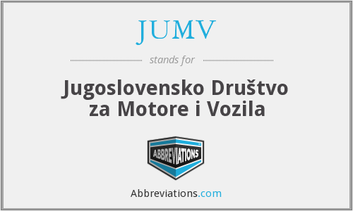 What does JUMV stand for?
