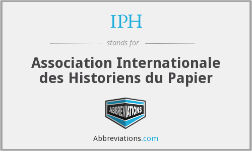 What does IPH stand for?