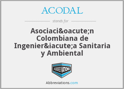 What does ACODAL stand for?