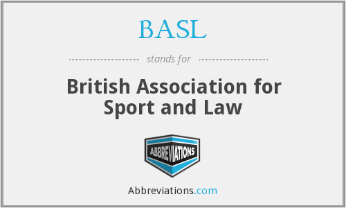 BASL - British Association for Sport and Law