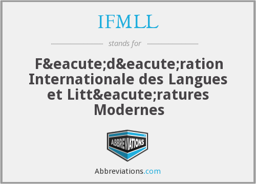 What does IFMLL stand for?