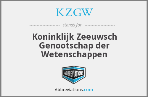 What does KZGW stand for?