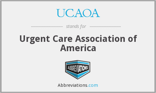 What does UCAOA stand for?