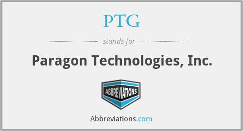 PTG - Paragon Technologies, Inc.