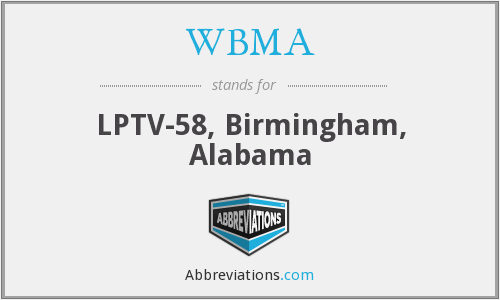 What does WBMA stand for?