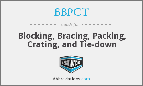 What does BBPCT stand for?