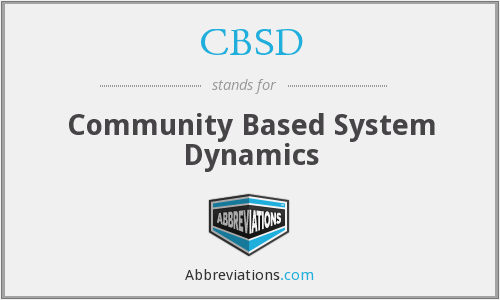 What does CBSD stand for?
