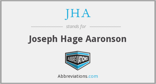 What does hage stand for?