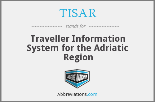 What does TISAR stand for?