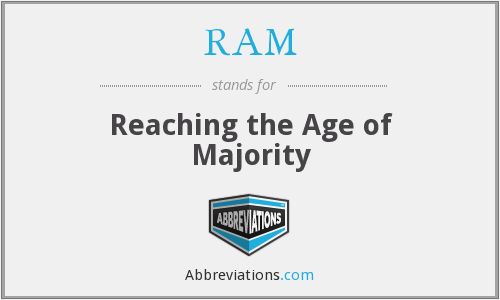 RAM - Reaching the Age of Majority