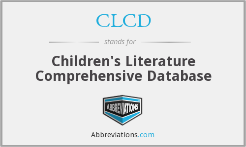 CLCD - Children's Literature Comprehensive Database