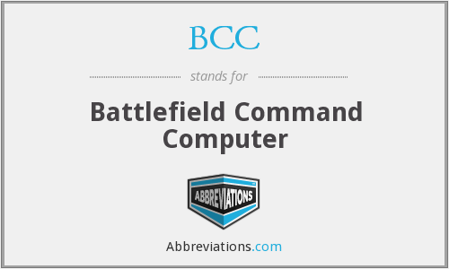 BCC - Battlefield Command Computer