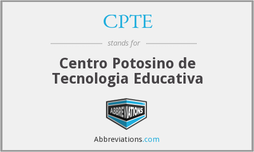 What does CPTE stand for?