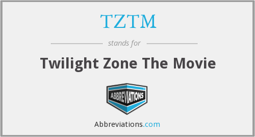 What does TZTM stand for?