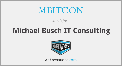 What does MBITCON stand for?