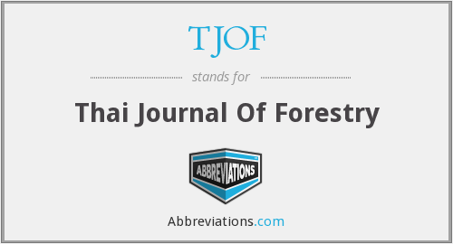 What does TJOF stand for?