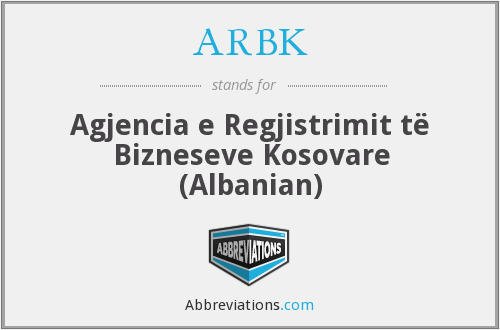 What does ARBK stand for?