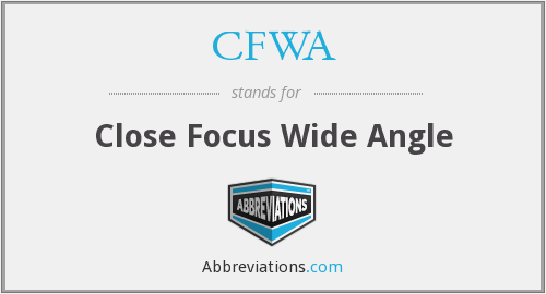 What does CFWA stand for?