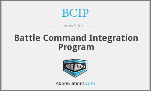 BCIP - Battle Command Integration Program