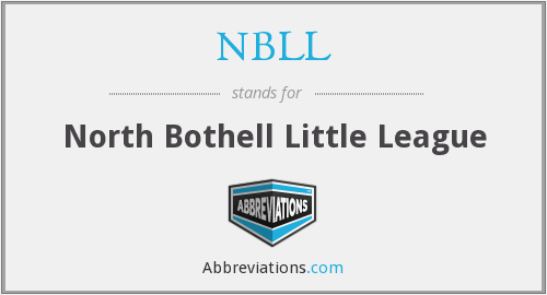 NBLL - North Bothell Little League
