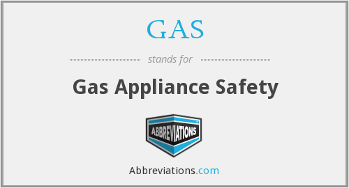 GAS - Gas Appliance Safety
