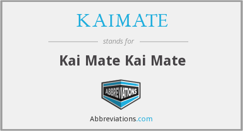 What does KAIMATE stand for?