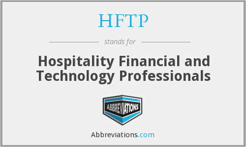 HFTP - Hospitality Financial and Technology Professionals