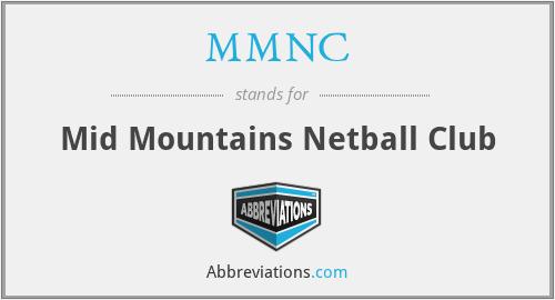 MMNC - Mid Mountains Netball Club