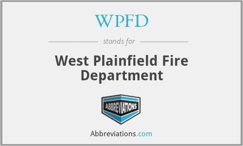 WPFD - West Plainfield Fire Department