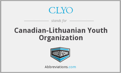 What does CLYO stand for?