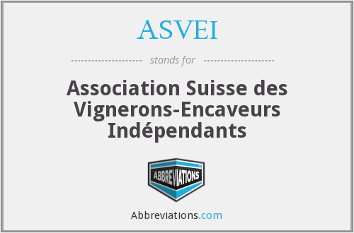 What does ASVEI stand for?