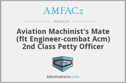 What does AMFAC2 stand for?