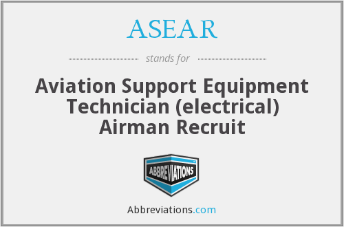 What does ASEAR stand for?