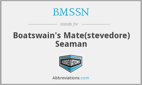 What does BMSSN stand for?