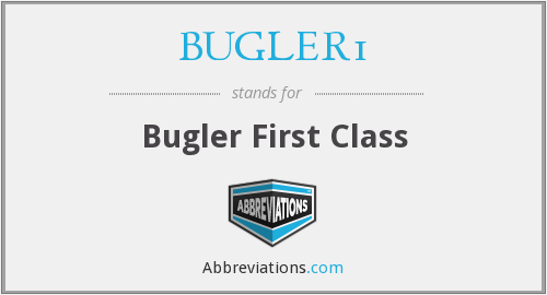 What does BUGLER1 stand for?