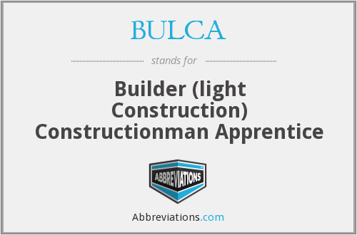 What does BULCA stand for?