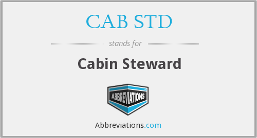 What does CAB STD stand for?