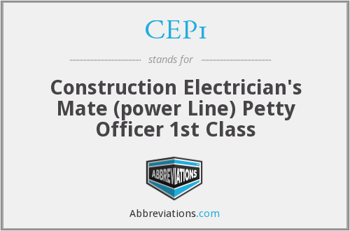 What does CEP1 stand for?