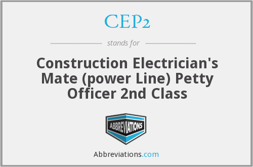 What does CEP2 stand for?