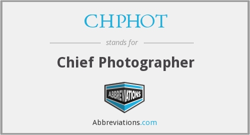 What does CHPHOT stand for?