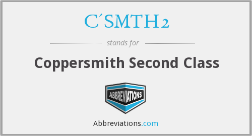 What does C'SMTH2 stand for?