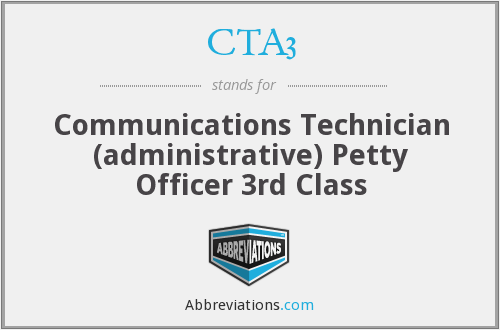 What does CTA3 stand for?