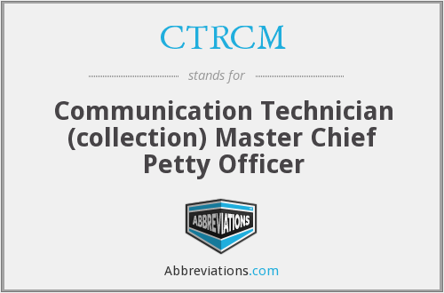 What does CTRCM stand for?