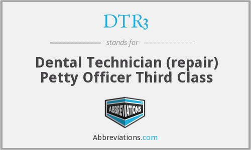 What does DTR3 stand for?