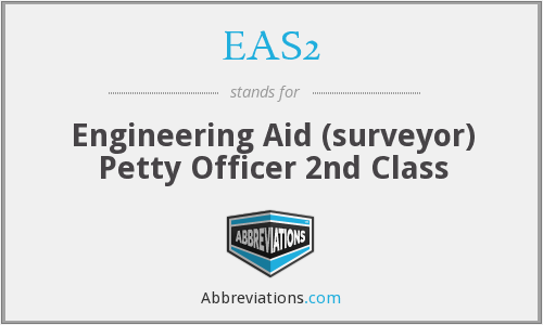 What does EAS2 stand for?
