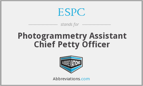 ESPC - Photogrammetry Assistant Chief Petty Officer