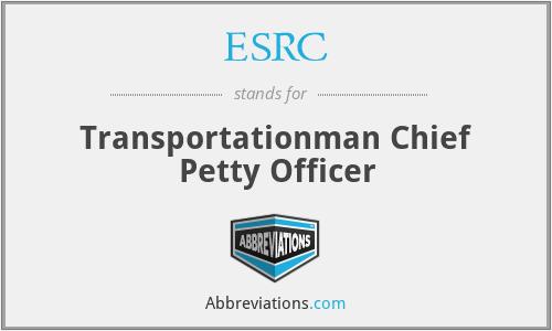 ESRC - Transportationman Chief Petty Officer