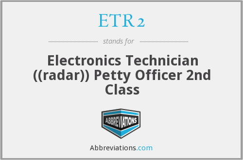 What does ETR2 stand for?